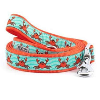 The Worthy Dog Crabs Dog Collar & Leash Collection-Paws & Purrs Barkery & Boutique