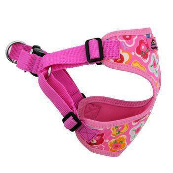 Wrap & Snap Choke Free Dog Harness - Maui Pink.