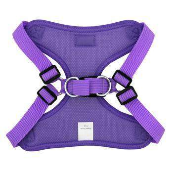 Doggie Design Paisley Purple Wrap & Snap Choke Free Dog Harness-Paws & Purrs Barkery & Boutique
