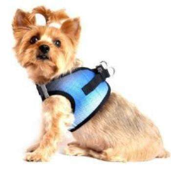 Doggie Design American River Midnight Sky Ombre Choke-Free Dog Harness-Paws & Purrs Barkery & Boutique