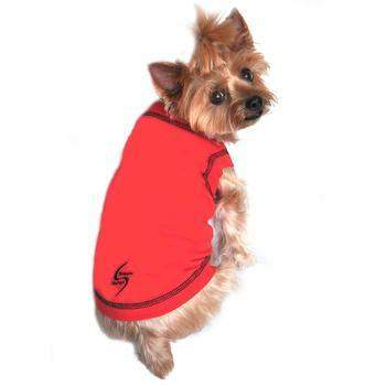 Doggie Design Scarlet Red Sport Dog Tank Top - Paws & Purrs Barkery & Boutique