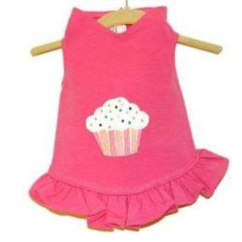 Daisy & Lucy Cupcake Flounce Dog Dress-Paws & Purrs Barkery & Boutique