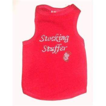 Dog Squad Stocking Stuffer Red Christmas Dog Tank-Paws & Purrs Barkery & Boutique