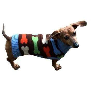 Dallas Dogs Bones Dog Turtleneck Sweater-Paws & Purrs Barkery & Boutique