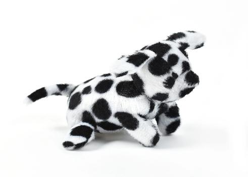 Oscar Newman Dalmatian Pipsqueak Dog Toy-Paws & Purrs Barkery & Boutique