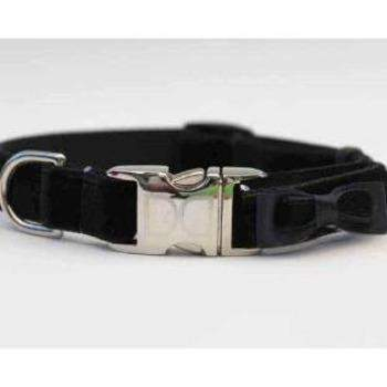 Bowtie Collar - All Metal Buckles (3 Colors)