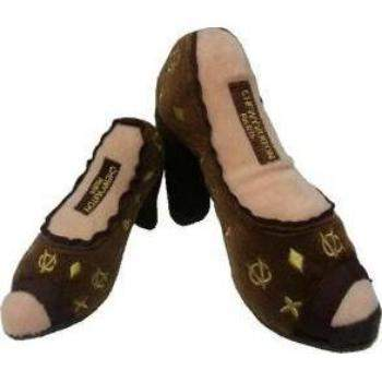 Dog Diggin Designs Chewy Vuitton Shoe Dog Toy-Paws & Purrs Barkery & Boutique