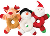 Ethical Holiday Donut Crinkler Dog Toy-Paws & Purrs Barkery & Boutique