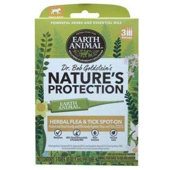 Earth Animal Nature's Protection Flea & Tick Topical for Dogs
