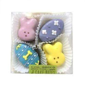 Bubba Rose Biscuit Company Easter Cake Bites Treat Box-Paws & Purrs Barkery & Boutique
