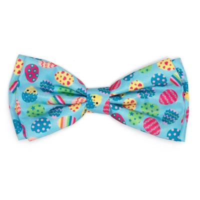 Easter Eggs Dog Bow Tie.