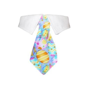 Easter Dog Tie & Shirt Collar.