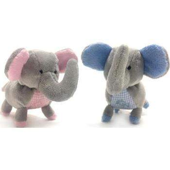 Oscar Newman Elephant Safari Baby Pipsqueak Dog Toy-Paws & Purrs Barkery & Boutique