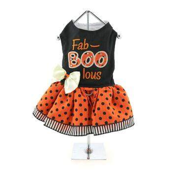 Doggie Design Fab-BOO-lous Halloween Dog Dress-Paws & Purrs Barkery & Boutique