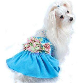 Floral Braided Dog Tank Dress