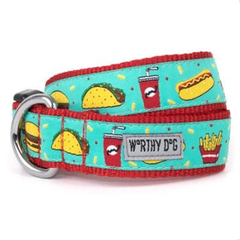 The Worthy Dog Food Fest Dog Collar & Leash Collection-Paws & Purrs Barkery & Boutique