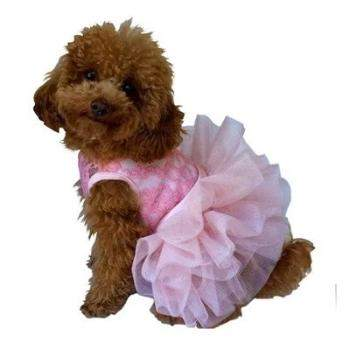 The Dog Squad Fufu Tutu Pink Dog Dress-Paws & Purrs Barkery & Boutique