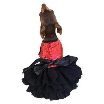The Dog Squad Fufu Tutu Red Dog Dress-Paws & Purrs Barkery & Boutique