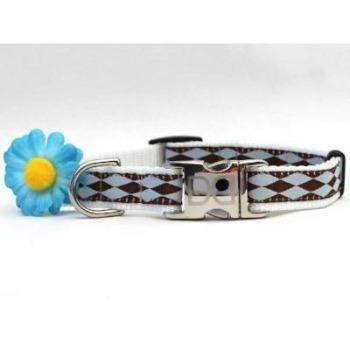 Gerber Daisy Collar - All Metal Buckles-Paws & Purrs Barkery & Boutique