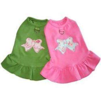 Gooby A Line Bow Dog Dress-Paws & Purrs Barkery & Boutique