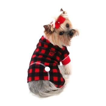 Hip Doggie Lumberjack Dog Pajamas-Paws & Purrs Barkery & Boutique