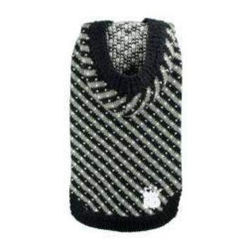 Hip Doggie Black Candy Striped Hooded Dog Sweater -Paws & Purrs Barkery & Boutique