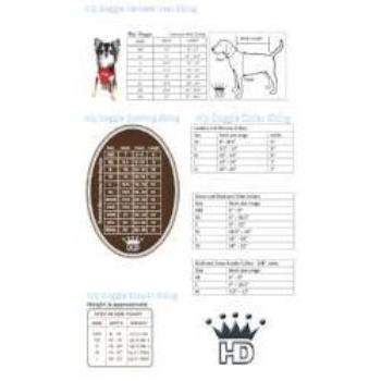 Hip Doggie Size Chart-Paws & Purrs Barkery & Boutique