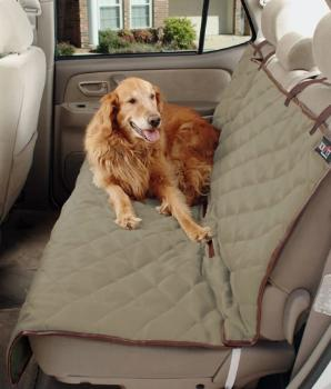 Deluxe Quilted Bench Car Seat Cover.