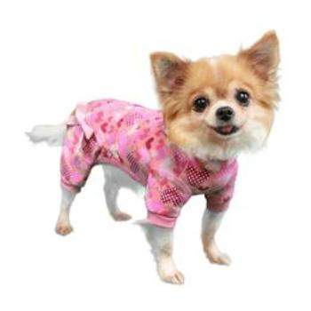 Pooch Outfitters Heart Dog Pajamas-Paws & Purrs Barkery & Boutique