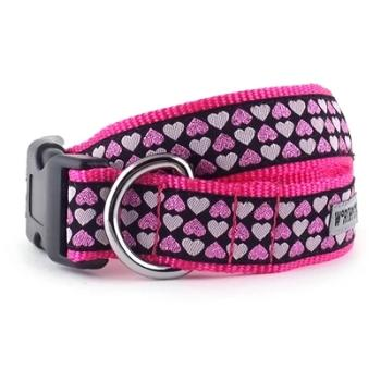 The Worthy Dog Hearts Dog Collar & Leash-Paws & Purrs Barkery & Boutique