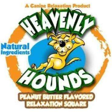 Heavenly Hounds Pet Anxiety Treat Square 2 oz.-Paws & Purrs Barkery & Boutique