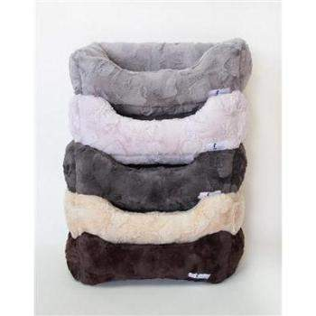 Hello Doggie Luxe Bolster Dog Bed-Paws & Purrs Barkery & Boutique