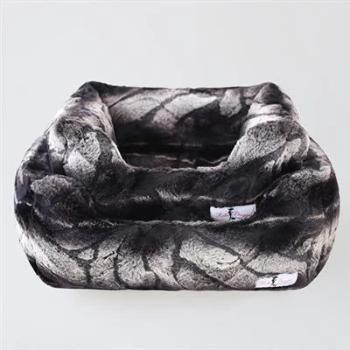 Hello Doggie Deluxe Chinchilla Dog Bed-Paws & Purrs Barkery & Boutique
