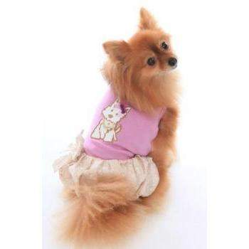 Dog in the Closet Hugs & Kisses Puppy Bubble Dog Dress-Paws & Purrs Barkery & Boutique