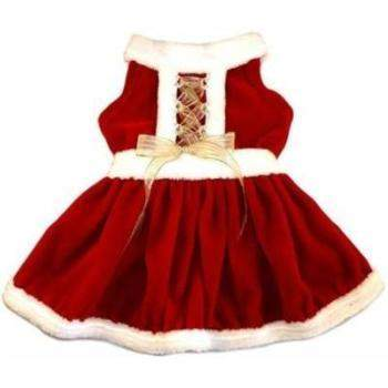 I See Spot Mrs. Claus II Dog Dress-Paws & Purrs Barkery & Boutique