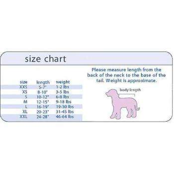I See Spot Size Chart-Paws & Purrs Barkery & Boutique