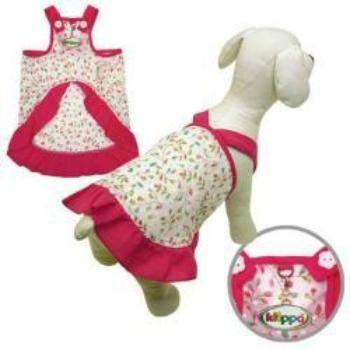 Klippo Colorful Spring Leaves V-Strap Dog Dress-Paws & Purrs Barkery & Boutique