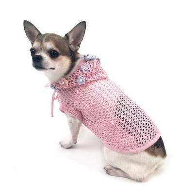 Oscar Newman Lacey Breezy Cover-up Dog Hoodie-Paws & Purrs Barkery & Boutique
