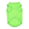 Doggie Design Green Flash Lime Green Cotton Dog Tank-Paws & Purrs Barkery & Boutique