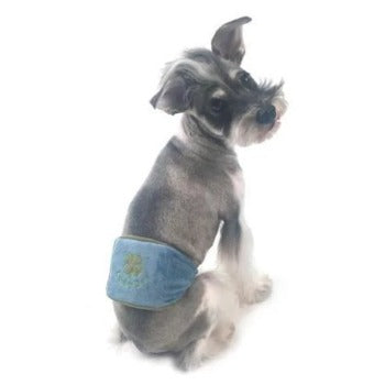 Truly Oscar Lucky Dog Belly Band-Paws & Purrs Barkery & Boutique