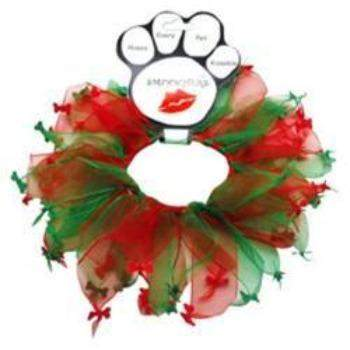 Christmas Bones Smoocher Collar Necklace