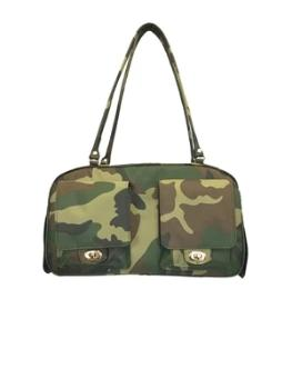 Petote Marlee Camouflage Dog Carrier-Paws & Purrs Barkery & Boutique
