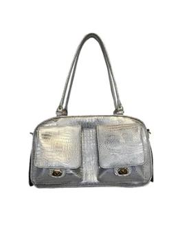 Petote Marlee Ice Crocodile Dog Carrier-Paws & Purrs Barkery & Boutique