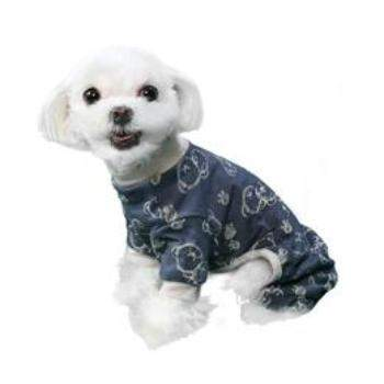 Pooch Outfitters Milo Dog Pajamas with Gray Trim - Paws & Purrs Barkery & Boutique