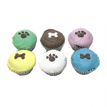 Bubba Rose Biscuit Company Mini Dog Cupcakes-Paws & Purrs Barkery & Boutique
