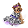 Monkey Daze Zebra Harness Dog Dress-Paws & Purrs Barkery & Boutique