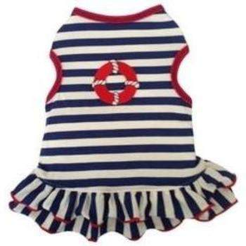 I See Spot Nautical Dog Dress-Paws & Purrs Barkery & Boutique