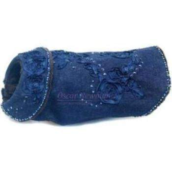 "Oscar Newman ""Blue for You"" Denim Dog Coat-Paws & Purrs Barkery & Boutique"
