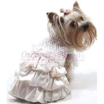 Oscar Newman I Dream of Maggie Hand-Smocked Bubble Dress-Paws & Purrs Barkery & Boutique