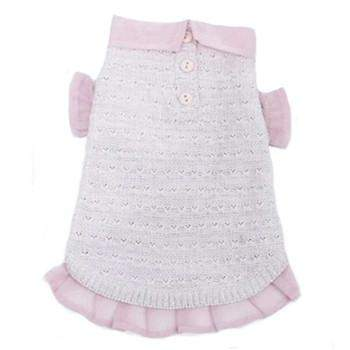 Truly Oscar Pink and Proper Dog Sweater-Paws & Purrs Barkery & Boutique